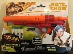 Star Wars Nerf Qi'Ra Blaster Battery-powered w/ 4x Glowstr
