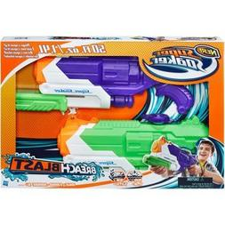 Nerf Super Soaker Breach Blast 2 Pack Water Blaster