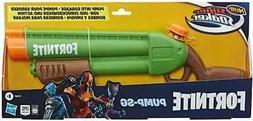 Nerf Super Soaker Fortnite Pump-SG Water Blaster -- Pump-Act