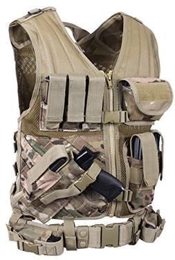 Kids Tactical Vest Kit For Nerf Guns N Strike Elite Series I