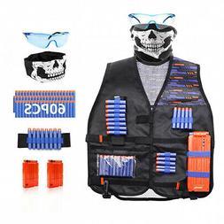 Tactical Vest Kit Compatible with Nerf Guns N-Strike Elite S