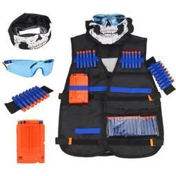 Tactical Vest Kit for Nerf Guns Strike Elite Series Kids Toy