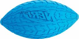 Nerf Dog Tire Squeak Football RED LARGE