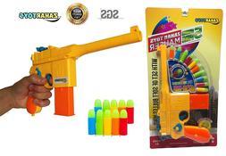 Toy Gun Blaster Mauser c96 Pistol with Set of Soft Bulles WW