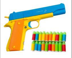 LNL Toy Gun for  M1911 45 ACP Nerf Foam Dart Guns Set US shi