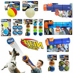 Nerf Dog Toys Tennis Ball Blasters Launchers Reload Balls Ac