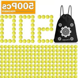 POKONBOY Upgraded 500-Round Balls Refill Pack Compatible wit
