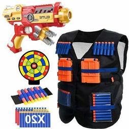 POKONBOY Vest Compatible Nerf Guns Super Hero - Blaster Gun