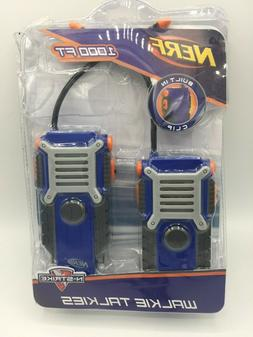 Nerf Walkie Talkie for Kids Fun at the Touch of a Button, Se