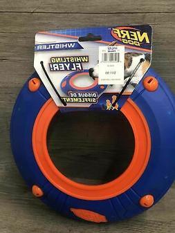 whistler whistling flyer disc plastic blue orange