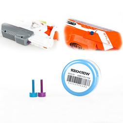 Worker Mod Thumb Screw Color Blue Pink for NERF STRYFE and E