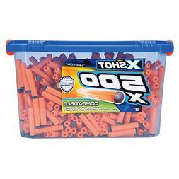 Zuru X-Shot 500 Dart Refill Pack Universally Compatible Oran