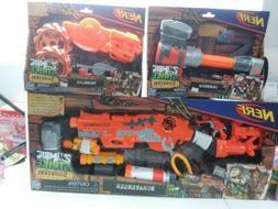 NERF Zombie Survival System Scravenger Blaster W/ Twinslice